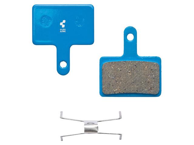 Cube 10025 Bromsbelägg Shimano Deore BR-M515/525/445/446, organisk blå